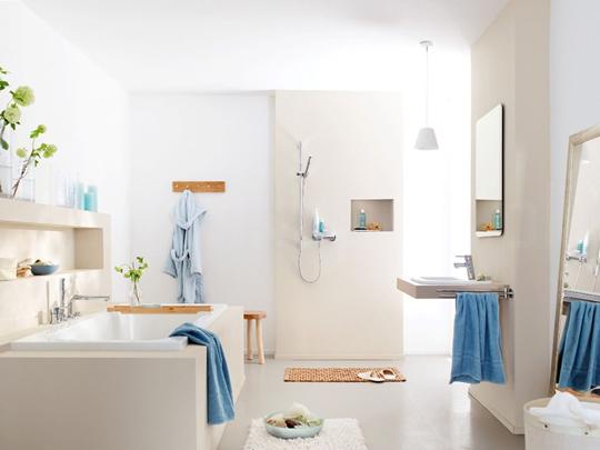 Blog łazienka W Stylu Marynistycznym Regałka